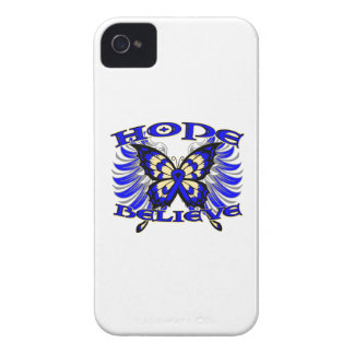 Colon Cancer Hope Believe Butterfly Blackberry Bold Cover