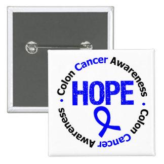 Colon Cancer Hope Button