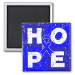 Colon Cancer HOPE Cube Fridge Magnets