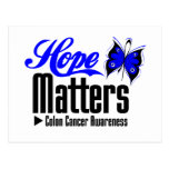 Colon Cancer HOPE MATTERS Postcard