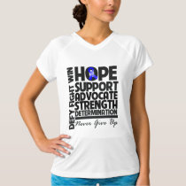 Colon Cancer Hope Support Advocate T-Shirt