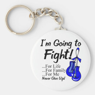 Colon Cancer I am Going To Fight Keychain