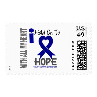 Colon Cancer I Hold On To Hope Postage