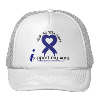 Colon Cancer I Support My Aunt Trucker Hat