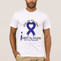 Colon Cancer I Support My Daughter T-Shirt