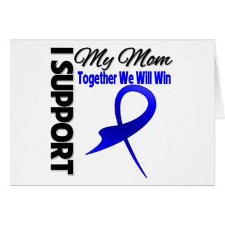 Colon Cancer I Support My Mom.png Greeting Card