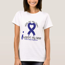 Colon Cancer I Support My Sister T-Shirt