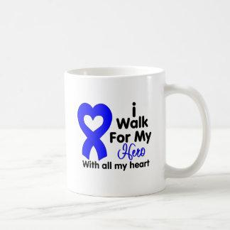 Colon Cancer I Walk For My Hero Mug