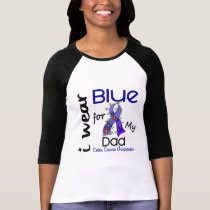 Colon Cancer I Wear Blue For My Dad 43 T-Shirt