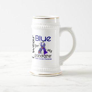 Colon Cancer I Wear Blue For My Grandfather 43 Coffee Mug