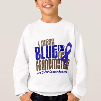Colon Cancer I WEAR BLUE FOR MY GRANDMOTHER 6.3 Sweatshirt