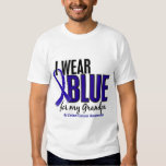 Colon Cancer I Wear Blue For My Grandpa 10 T Shirt