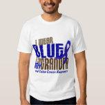 Colon Cancer I WEAR BLUE FOR MY GRANDPA 6.3 Shirt