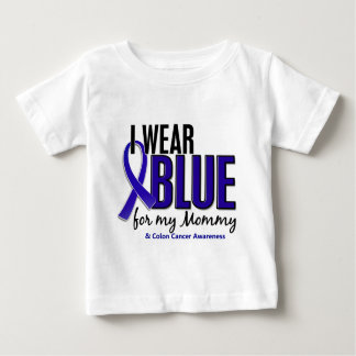 Colon Cancer I Wear Blue For My Mommy 10 Baby T-Shirt