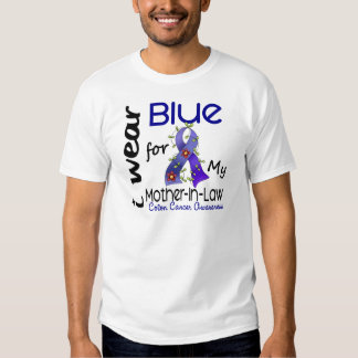 Colon Cancer I Wear Blue For My Mother-In-Law 43 T Shirts