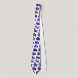 Colon Cancer I Wear Blue For My Patients 10 Neck Tie
