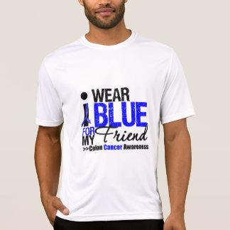 Colon Cancer I Wear Blue Ribbon For My Friend T Shirts