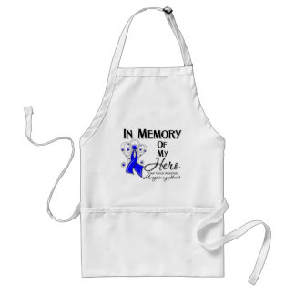 Colon Cancer In Memory of My Hero Apron