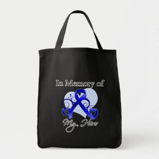 Colon Cancer In Memory of My Hero Bags