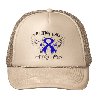 Colon Cancer In Memory of My Hero Hat