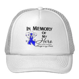 Colon Cancer In Memory of My Hero Trucker Hats