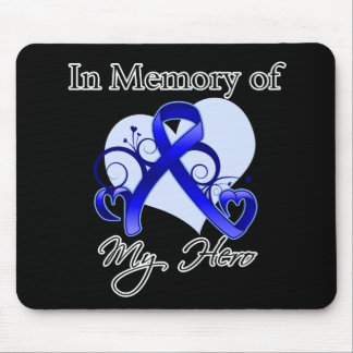 Colon Cancer In Memory of My Hero Mouse Pad