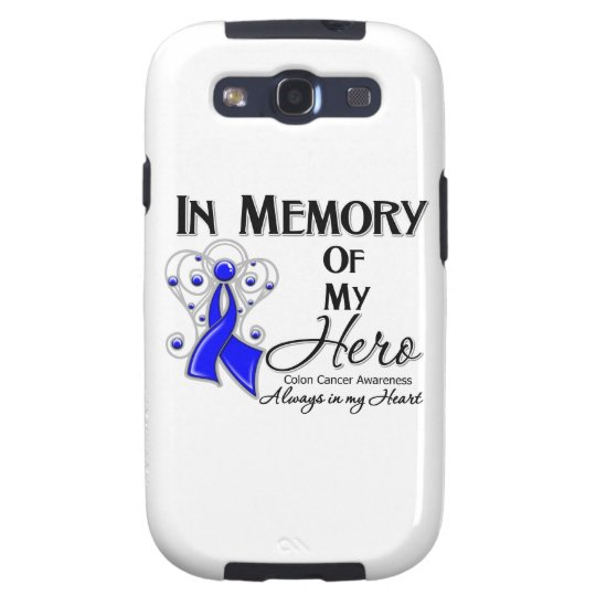 Colon Cancer In Memory of My Hero Samsung Galaxy SIII Case