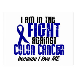 COLON CANCER In The Fight For Me 1 Postcard