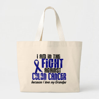 COLON CANCER In The Fight For My Grandpa 1 Jumbo Tote Bag