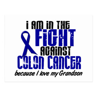 COLON CANCER In The Fight For My Grandson 1 Postcard