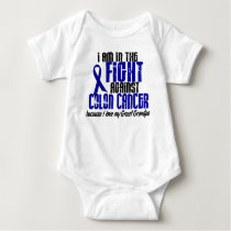 COLON CANCER In The Fight For My Great Grandpa 1 Baby Bodysuit