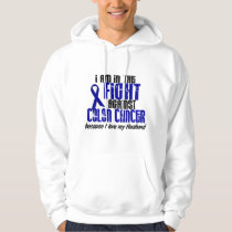 COLON CANCER In The Fight For My Husband 1 Hoodie