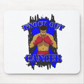 Colon Cancer Knock Out Cancer Mousepads