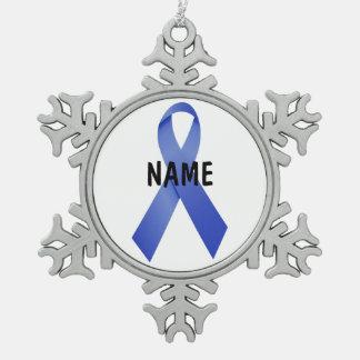 Colon Cancer Memorial Ornament