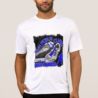 Colon Cancer - Men Run For A Cure Tshirts