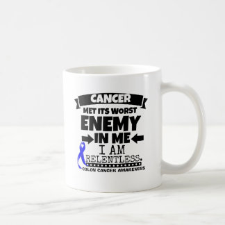 Colon Cancer Met Its Worst Enemy in Me Coffee Mug
