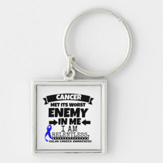 Colon Cancer Met Its Worst Enemy in Me Keychain