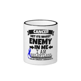 Colon Cancer Met Its Worst Enemy in Me Ringer Mug