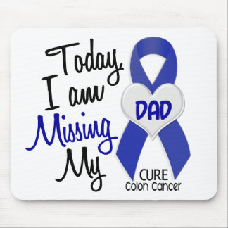 Colon Cancer MISSING MY DAD Mouse Pad