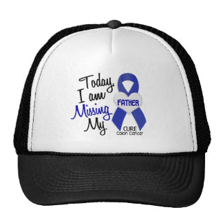 Colon Cancer MISSING MY FATHER Hats
