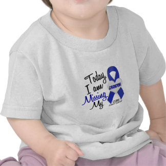 Colon Cancer MISSING MY GRANDMA Tee Shirts