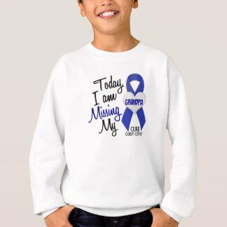 Colon Cancer MISSING MY GRANDPA Sweatshirt