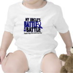Colon Cancer MY BATTLE TOO 1 Uncle Shirts