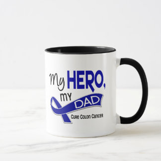 Colon Cancer MY HERO MY DAD 42 Mug