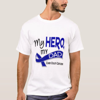 Colon Cancer MY HERO MY DAD 42 T-Shirt