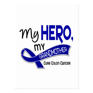 Colon Cancer MY HERO MY GRANDMOTHER 42 Postcard
