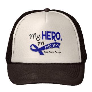Colon Cancer MY HERO MY MOM 42 Trucker Hat