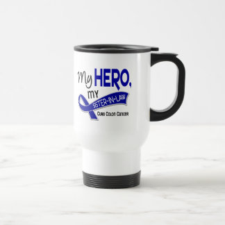Colon Cancer MY HERO MY SISTER-IN-LAW 42 Travel Mug