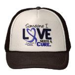 Colon Cancer NEEDS A CURE 2 Hats