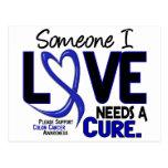 Colon Cancer NEEDS A CURE 2 Postcards